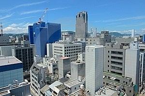 Hiroshima Skyline Royalty Free Stock Photography - Image: 20458977