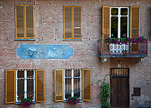 Front Of Italian House. Royalty Free Stock Photos - Image: 20459928