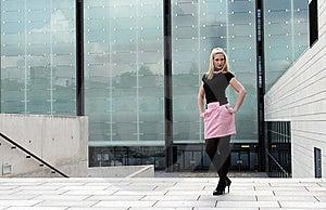 Blonde Girl Posing Royalty Free Stock Images - Image: 20461829