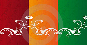 Flowers Ornaments Royalty Free Stock Photos - Image: 20467248