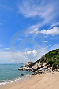 Sky And Cloud By Sea Coast Royalty Free Stock Photography - Image: 20467317