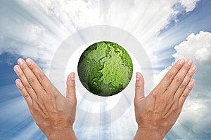 Shining Globe Royalty Free Stock Photography - Image: 20468297