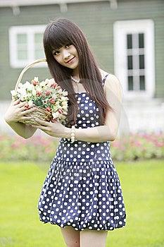 Asian Model Posing Outdoor Stock Photo - Image: 20468610