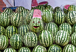 Sale Of Water-melons Stock Images - Image: 20470744