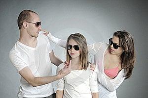 Beautiful Teens Posing Royalty Free Stock Photos - Image: 20474198