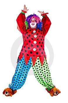 Holiday Clown Royalty Free Stock Photos - Image: 20474458