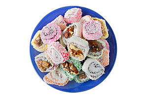 Sweets On Dish Stock Photos - Image: 20475833