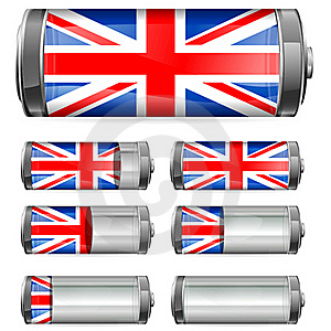 Uk Battery Stock Images - Image: 20476194