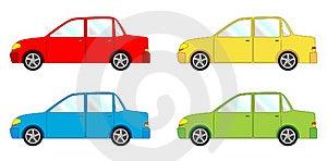 Vehicle Pack - Sedan Royalty Free Stock Photography - Image: 20477827