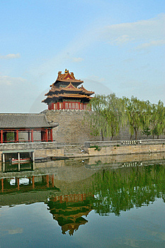 Turret Of The Imperial Palace Stock Photography - Image: 20479992