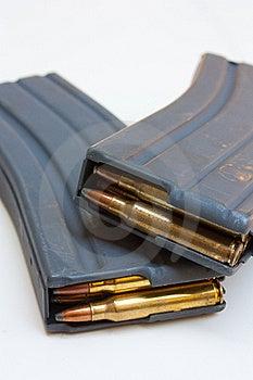 M-16 Magazines Stock Photos - Image: 20480443
