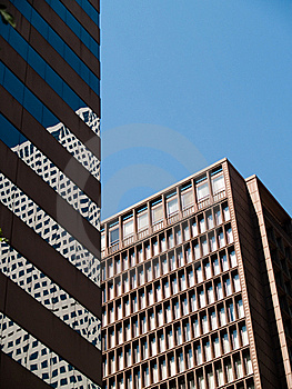 Office Buildings Royalty Free Stock Image - Image: 20480646