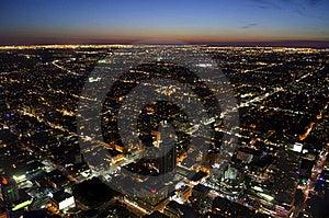Toronto Cityscape At Dusk Royalty Free Stock Photos - Image: 20481078