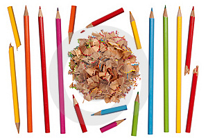 Colorful Pencils Collection Royalty Free Stock Images - Image: 20481179