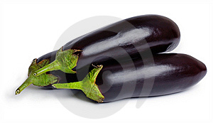 Eggplants (aubergines) Royalty Free Stock Images - Image: 20481739