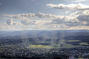 View To Norwegian Landscape (HDR) Royalty Free Stock Photo - Image: 20483345