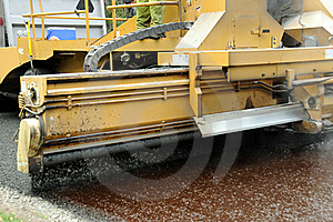 Gravel Spreader Royalty Free Stock Image - Image: 20495366