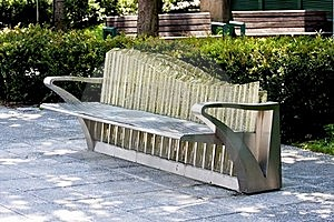 Public Chair Stock Image - Image: 20496611