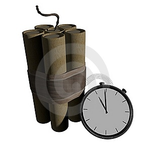 Time Bomb Stock Images - Image: 20496924