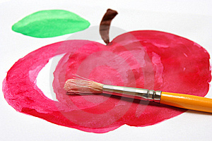 Red Apple Royalty Free Stock Image - Image: 20497346