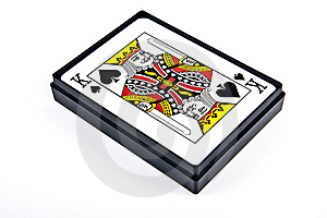 King Of Spades Stock Images - Image: 20497514