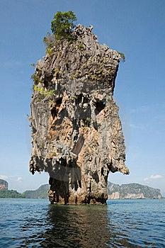 James Bond Island Ro Khao Tapu Royalty Free Stock Photos - Image: 20497618