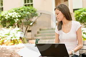 Attractive Young Student Royalty Free Stock Photo - Image: 20497935