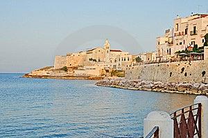 Vieste, Puglia, Italy Stock Image - Image: 20498251