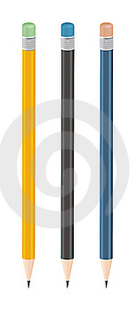 Pencils Royalty Free Stock Image - Image: 20499006