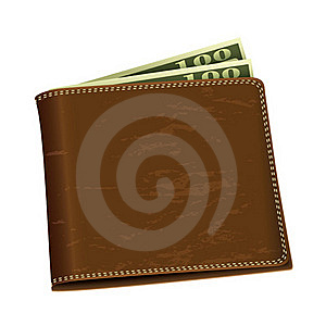 Dollar Money Wallet Stock Photos - Image: 20499393