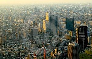Skyscrapers. Tokyo Stock Images