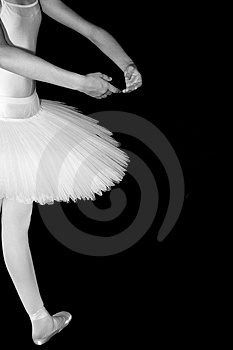 Ballerina Stock Photo