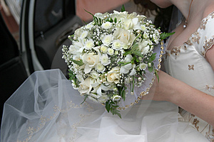 Wedding Bouquet Of The Bride Royalty Free Stock Photos - Image: 2055888
