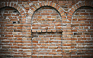 Brick Wall - Ancient Fortress Stock Images - Image: 20500124