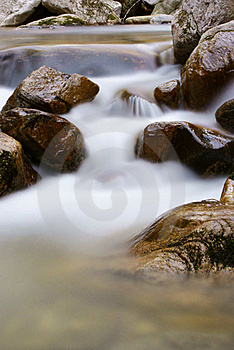 Flowing Water Royalty Free Stock Photo - Image: 20501055
