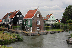 Houses In Marken, Holland Royalty Free Stock Photography - Image: 20502157