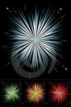 Light Burst Set Royalty Free Stock Photo - Image: 20502245