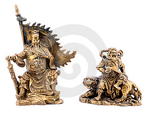 Chinese Military Strategist Royalty Free Stock Image - Image: 20502306