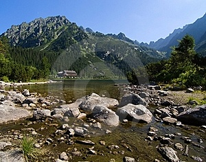 Lake In High Tatras, Slovakia Stock Image - Image: 20506221