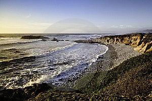 Sunset On The Ocean Beach Stock Photo - Image: 20507540