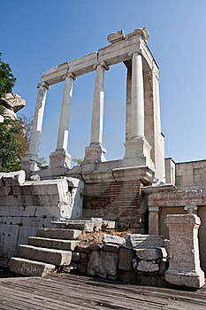 Plovdiv Amphitheatre Royalty Free Stock Images - Image: 20507599
