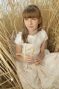 Communion Girl Royalty Free Stock Photos - Image: 20508798
