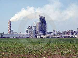 Cement Factory. Stock Photos - Image: 20511153