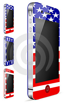 America Touch Phone Stock Image - Image: 20512831