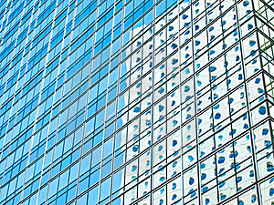 Modern Building Mirror Reflection Royalty Free Stock Photo - Image: 20515695