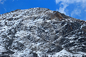 Snow Mountain Stock Image - Image: 20516801