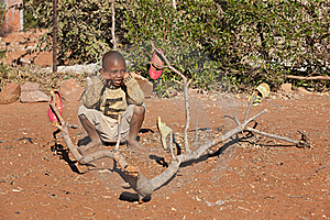 African Little Boy Royalty Free Stock Image - Image: 20519236