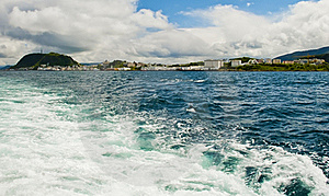 Waterfront View On Alesund City, Norway Stock Photography - Image: 20520042