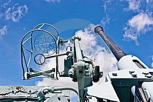 Canadian Destroyer Anti Aircraft Gun Royalty Free Stock Image - Image: 20521016