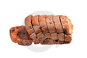 Cocoa Bread With Chocolate Chip Royalty Free Stock Image - Image: 20521456